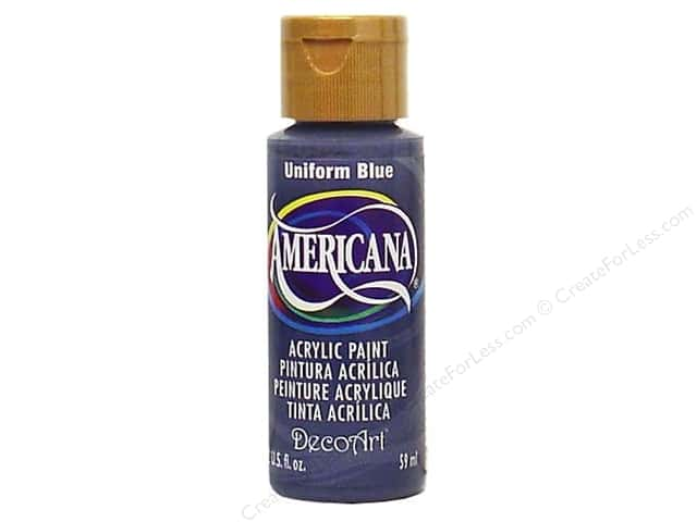 DecoArt Americana Acrylic Paint 2 oz. #086 Uniform Blue