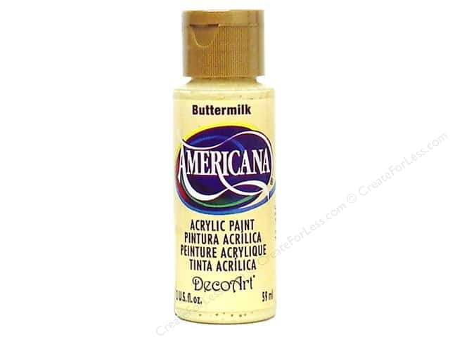 DecoArt Americana Acrylic 2oz Buttermilk