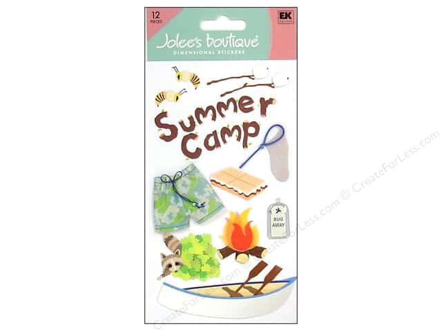 Jolee's Boutique Stickers Large Summer Camp