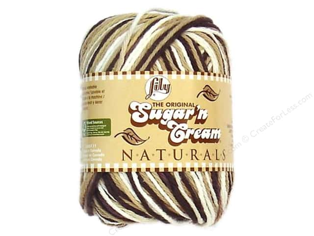 Lily Sugar 'n Cream Yarn  2 oz. #2014 Naturals Chocolate Ombre