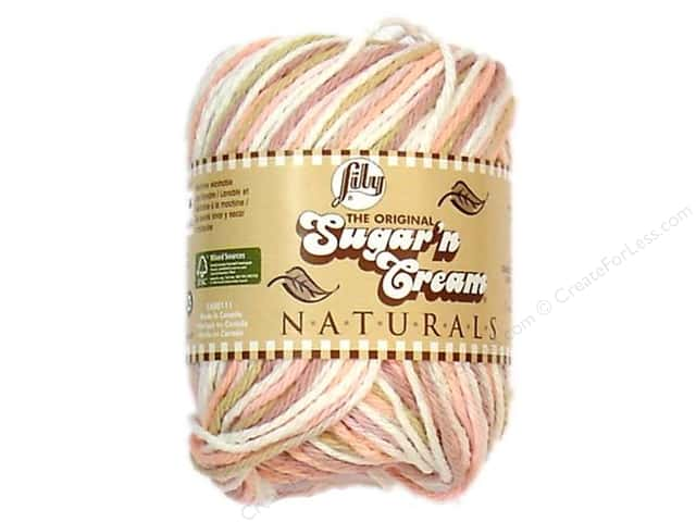 Sugar'n Cream Yarn Naturals Tumbleweed 2oz