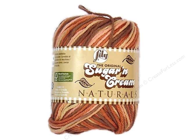 Sugar'n Cream Yarn Naturals Desert Rising 2oz