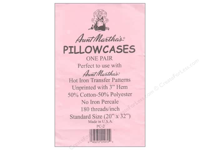 Aunt Martha's Pillowcases Standard 2pc