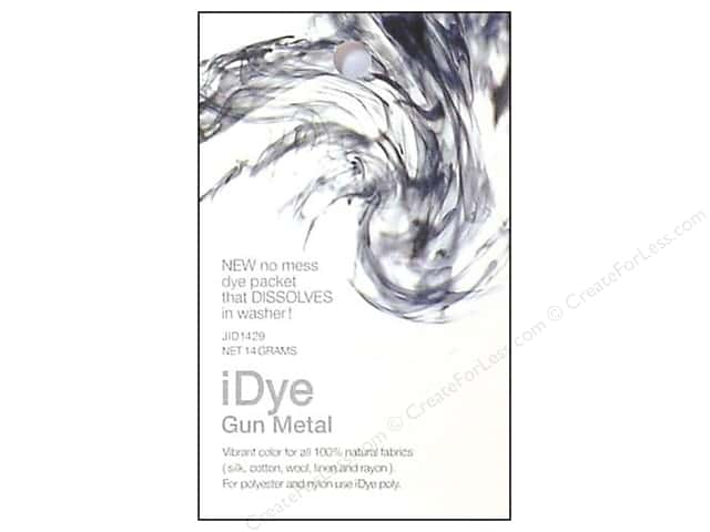 Jacquard iDye Natural Fabrics Gun Metal 14 grams