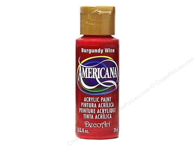 DecoArt Americana Acrylic Paint 2 oz. #022 Burgundy Wine