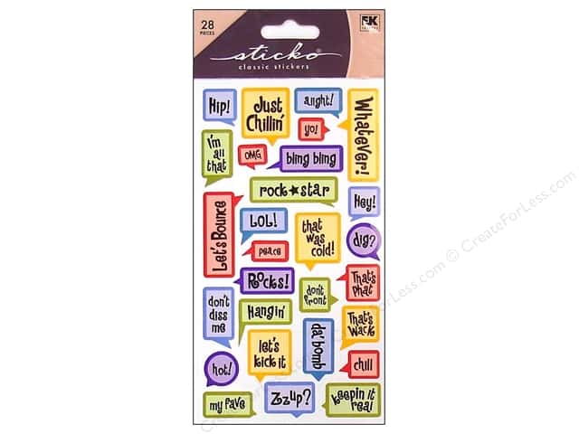 EK Sticko Stickers Captions Teenager