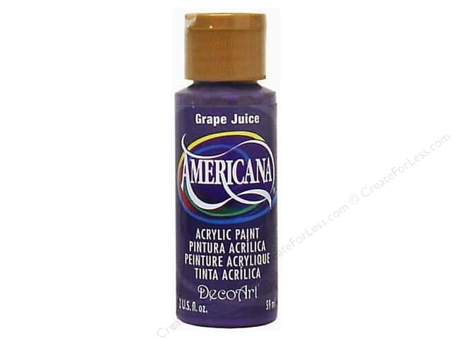 DecoArt Americana Acrylic Paint 2 oz. #236 Grape Juice