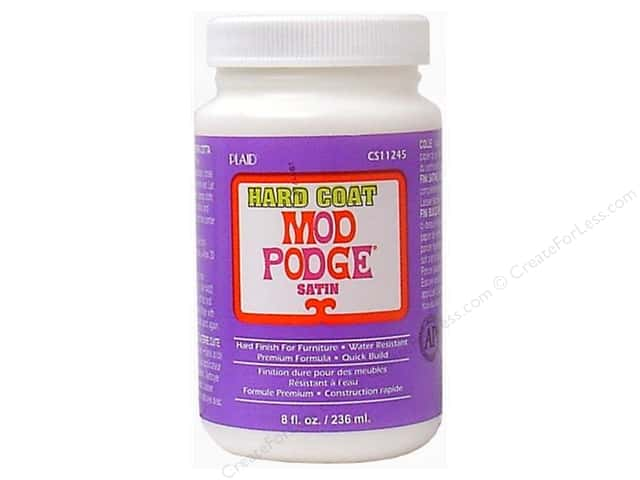 Plaid Mod Podge Hard Coat 8 oz.
