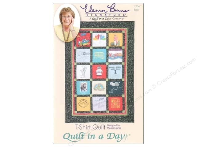 Quilt In A Day T-Shirt Quilt Pattern
