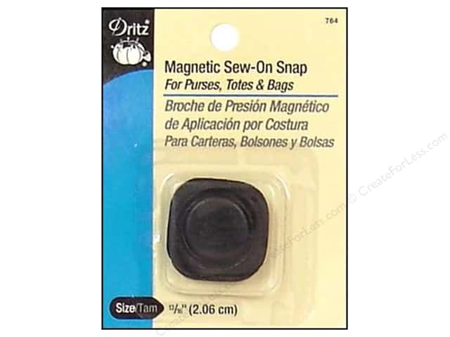 Magnetic Sew-On Snap by Dritz Square 13/16 in.