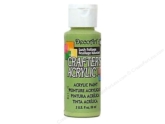 DecoArt Crafter's Acrylic Paint 2 oz. #115 Lush Foliage