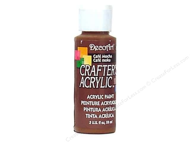 DecoArt Crafter's Acrylic Paint 2 oz. #116 Cafe Mocha