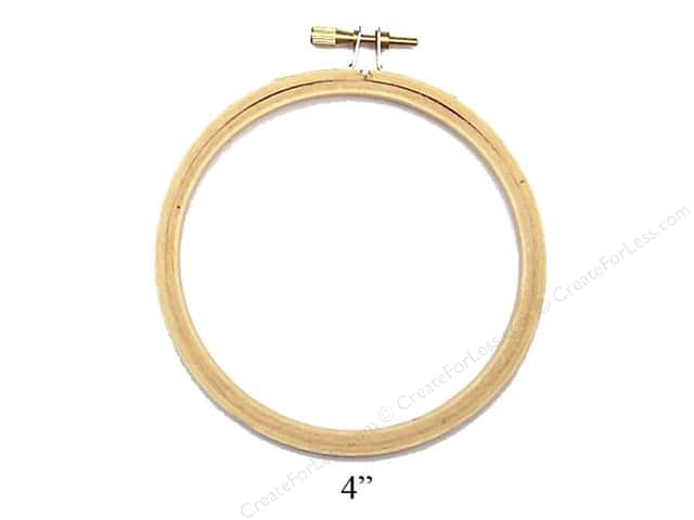 Darice Wood Embroidery Hoop 4""