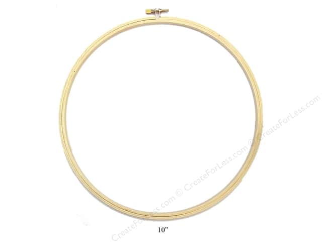 Darice Wood Embroidery Hoop 10""