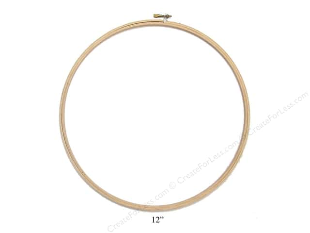 Darice Wood Embroidery Hoop 12 in.