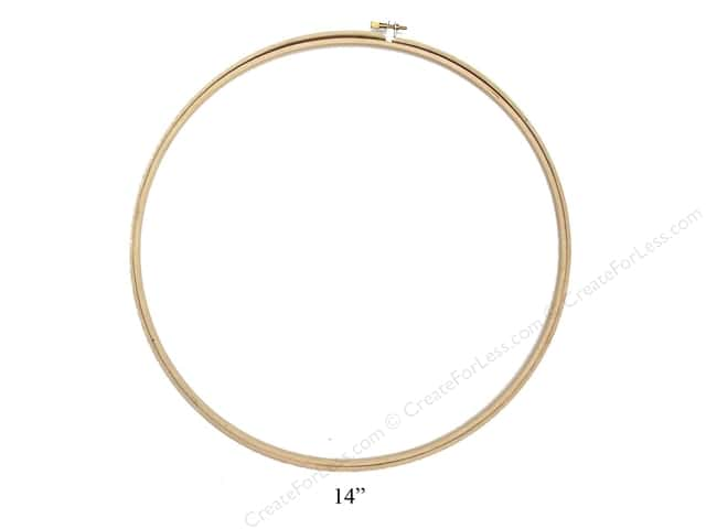 Darice Wood Embroidery Hoop 14 in.
