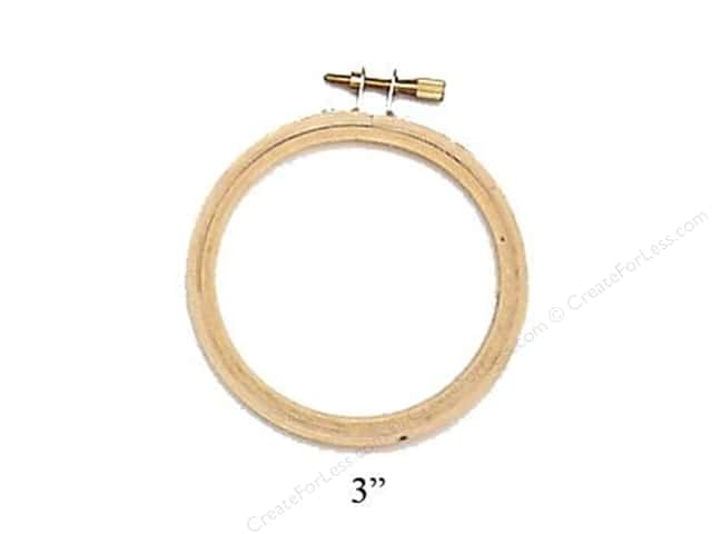 Darice Wood Embroidery Hoop 3 in.