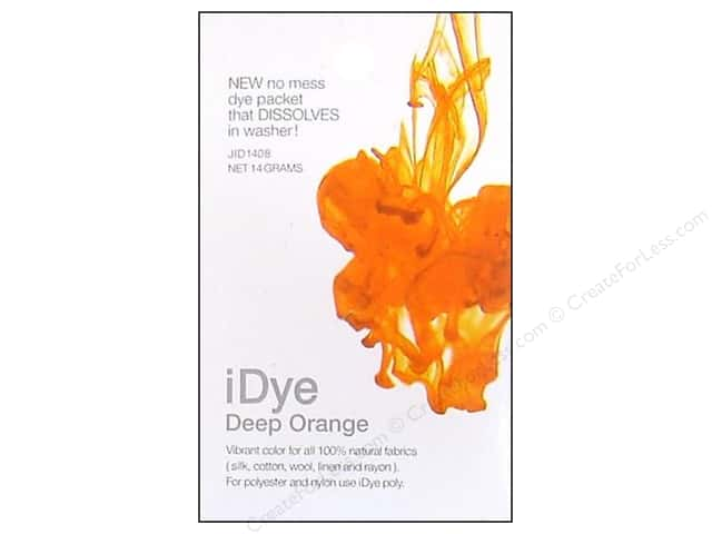 Jacquard iDye Natural Fabrics Deep Orange 14 grams
