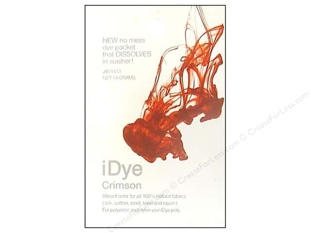 Jacquard iDye Natural Fabrics Crimson 14 grams