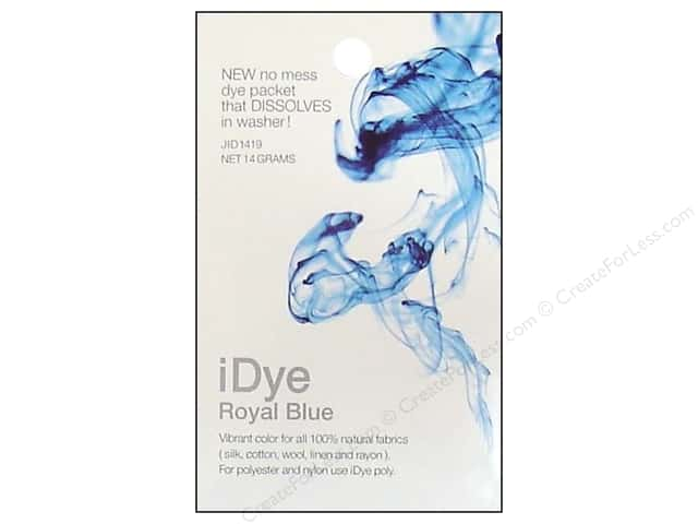 Jacquard iDye Natural Fabrics Royal Blue 14 grams