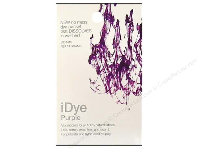 Jacquard iDye Natural Fabrics Purple 14 grams