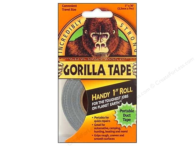 "Gorilla Tape Handy Roll 1""x 30'"