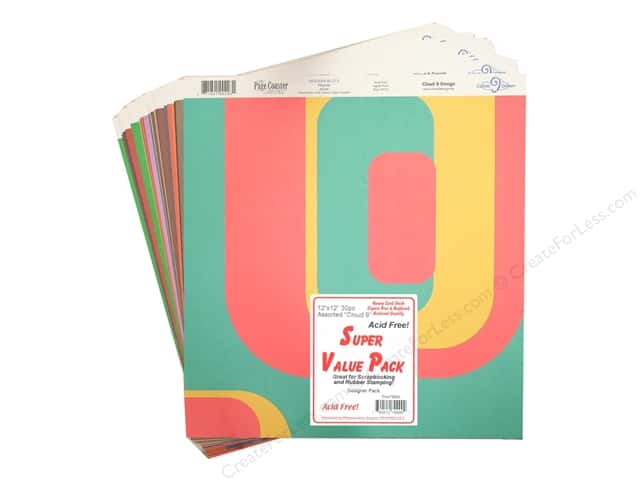 "Petersen-Arne Super Value Pack Designer Paper 12""x 12""  Assorted 20pc"