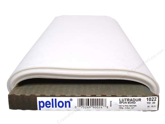 "Pellon Sew In Stabilizer Lutradur Translucent Nonwoven 20""x 20yd (20 yards)"