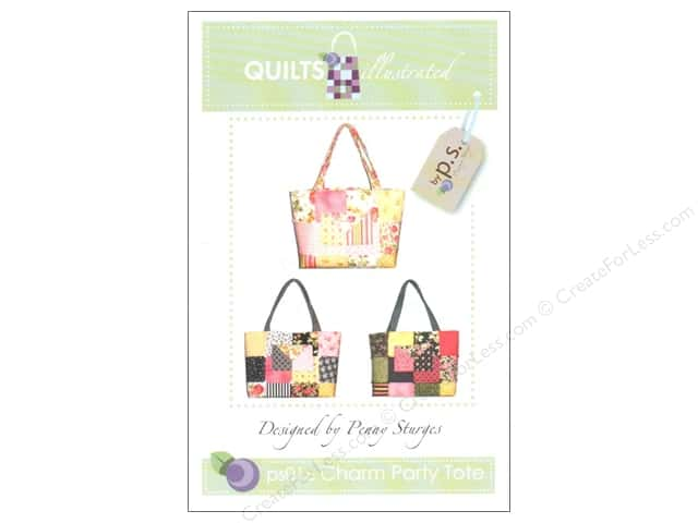 Quilts Illustrated Charm Party Tote Pattern
