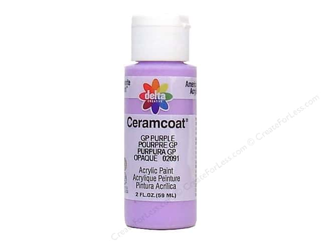 Ceramcoat Acrylic Paint by Delta 2 oz. GP Purple
