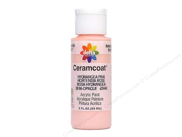 Ceramcoat Acrylic Paint by Delta 2 oz. Hydrangea Pink