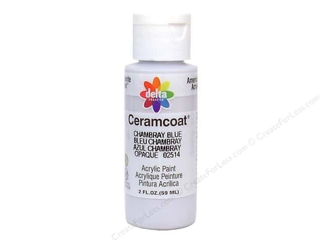 Ceramcoat Acrylic Paint by Delta 2 oz. Chambray Blue