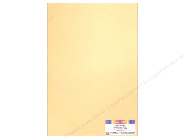 "National Nonwovens WoolFelt 12""x 18"" 20% Blush (12 sheets)"