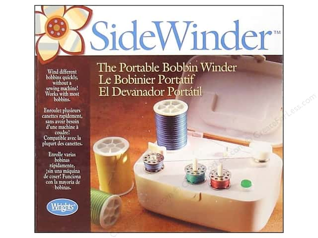 Wrights SideWinder Bobbin Winder Portable