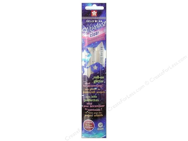 Sakura Gelly Roll Pen Stardust Clear 2pc