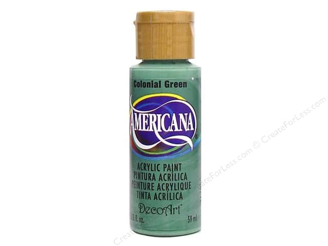 DecoArt Americana Acrylic 2oz Colonial Green