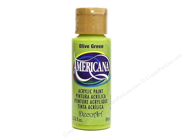 DecoArt Americana Acrylic Paint 2 oz. #056 Olive Green