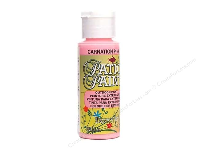 DecoArt Patio Paint 2oz Carnation Pink