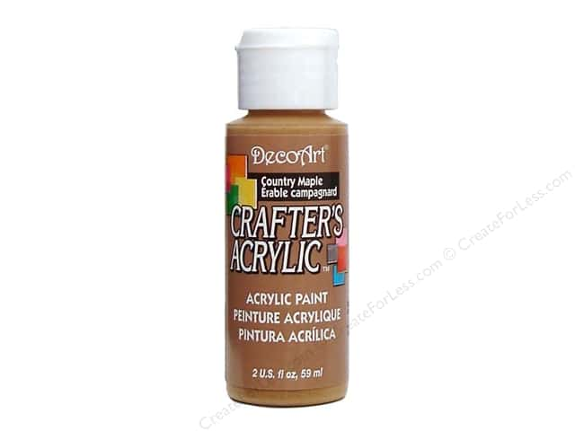 DecoArt Crafter's Acrylic Paint 2 oz. #13 Country Maple