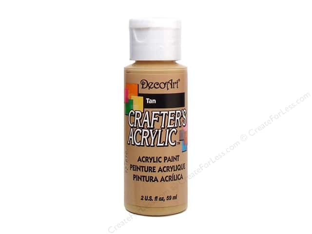 DecoArt Crafter's Acrylic Paint 2 oz. #15 Tan