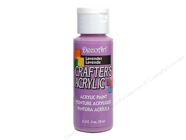 DecoArt Crafter's Acrylic Paint 2 oz. #26 Lavender