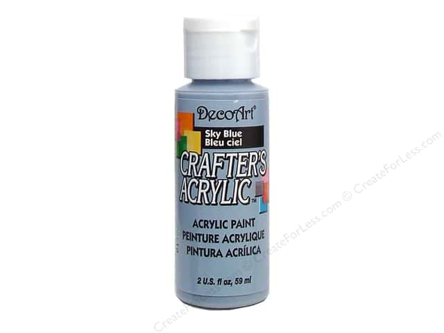 DecoArt Crafter's Acrylic Paint 2 oz. #33 Sky Blue