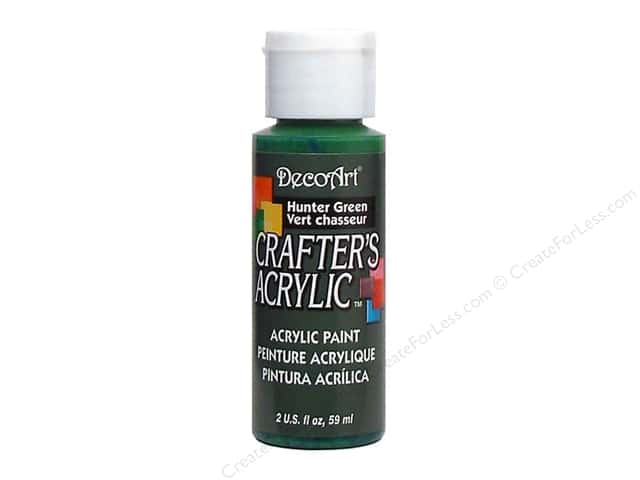 DecoArt Crafter's Acrylic Paint 2 oz. #41 Hunter Green