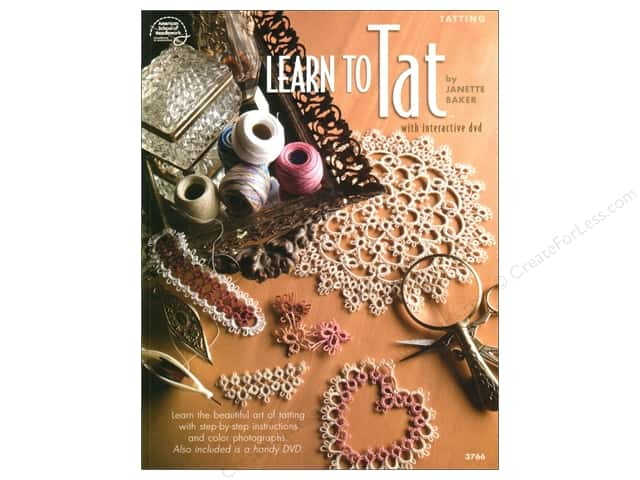 American School of Needlework Learn To Tat DVD & Book
