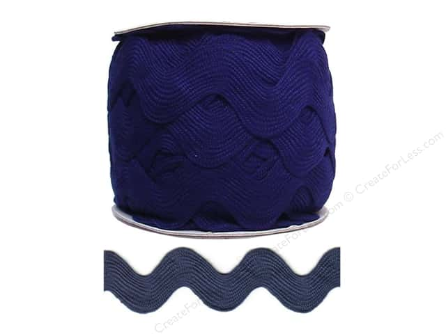 Jumbo Ric Rac by Cheep Trims  1 13/32 in. Navy Blue (24 yards)