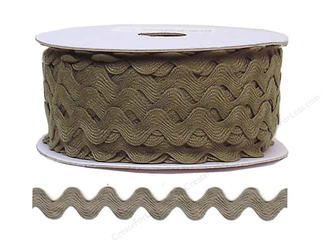 Ric Rac by Cheep Trims  11/16 in. Dark Taupe (24 yards)