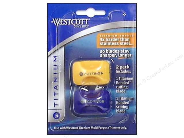 "Westcott Personal Trimmer 12"" Blade Cut/Score 2pc"