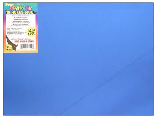 Foamies Sticky Sheet 9 x 12 in. Royal Blue (10 sheets)