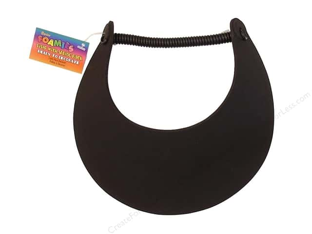 Darice Foamies Visor Black (3 pieces)