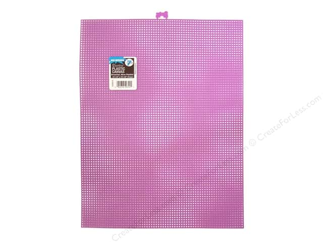 "Darice Plastic Canvas #7 10.5""x 13.5"" Purple (12 sheets)"
